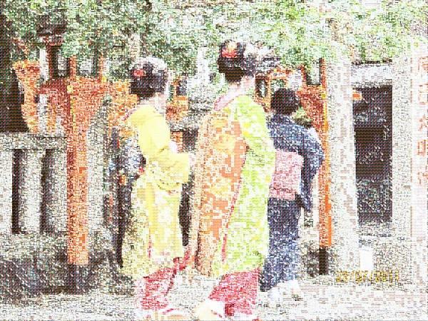 相片蒙太奇-京都白川