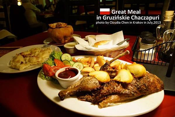 Gruzińskie Chaczapuri a