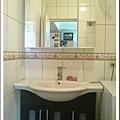 浴室, 三面鏡收納櫃+洗手台, 老公選的!