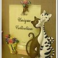 荷蘭買的恩愛貓相框