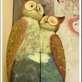 荷蘭買的超恩愛貓頭鷹夫婦