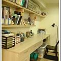 和室的長書桌