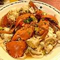 好吃的螃蟹炒粿條!