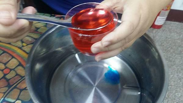 07 紅色 湯匙