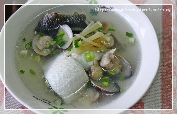 虱目魚肚蛤蜊湯2