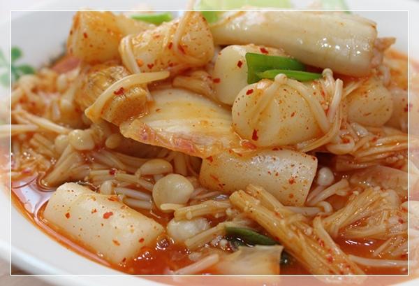 泡菜炒年糕1
