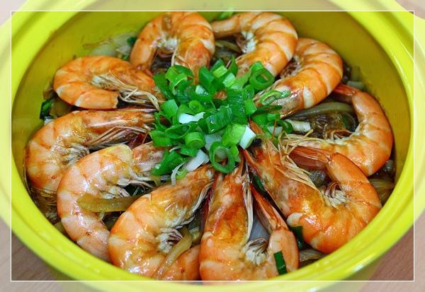 鮮蝦粉絲煲5