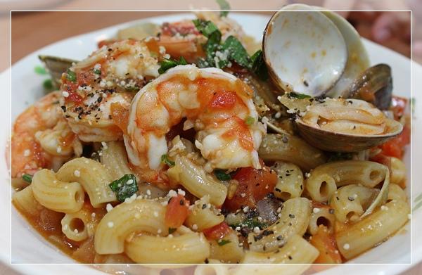 番茄海鮮義大利麵2