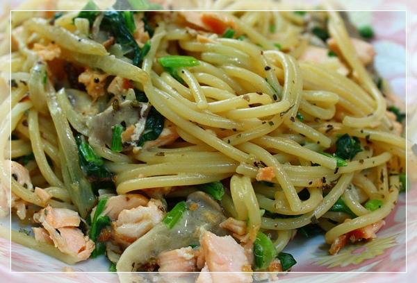 奶油鮭魚義大利麵2