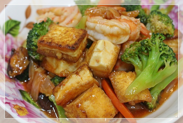 蝦仁豆腐煲1