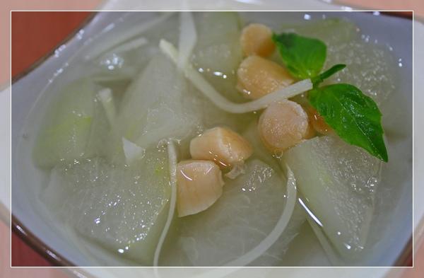 冬瓜干貝湯1