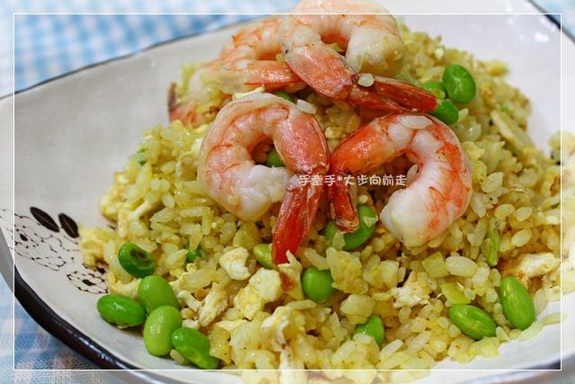 黃金蝦仁炒飯4