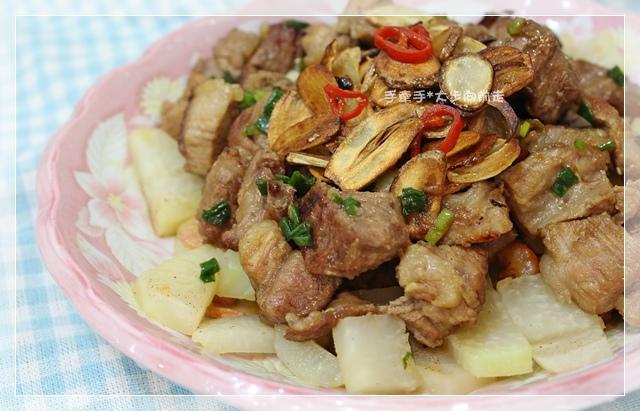 大頭菜燒梅花肉7