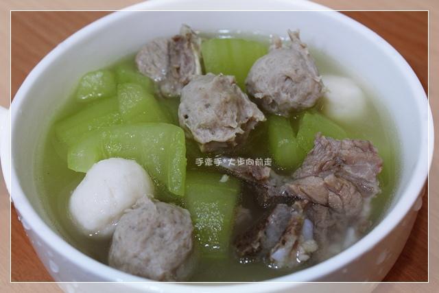 大黃瓜魚丸湯2