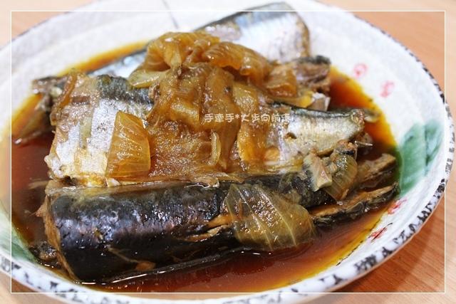化骨秋刀魚