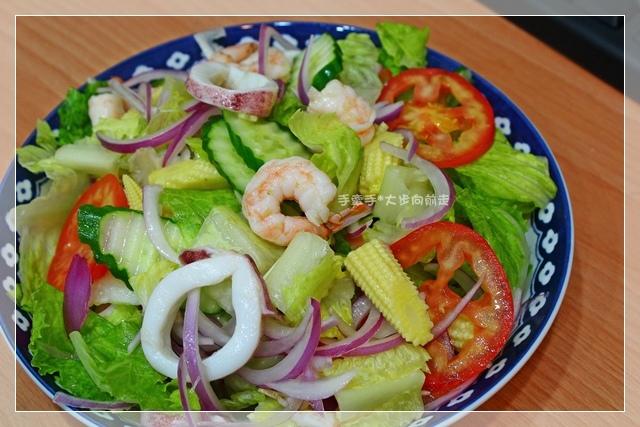 和風海鮮蔬菜沙拉2