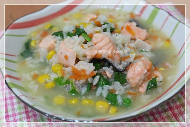 鮭魚蔬菜粥1.JPG
