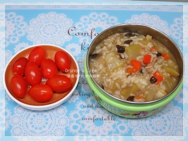 DAY11-瓠瓜鹹粥+小蕃茄.JPG