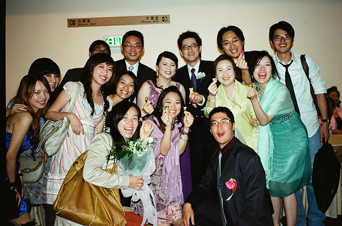 親愛的家琪姐邦寧哥婚禮