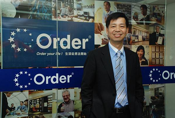 Order傢俱前進中國廣東深圳,讓董事長陳國都旗下的事業版圖再下一城。