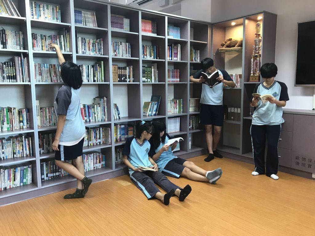 歐德集團優渥實木家具公益活動百閱圖書館計畫