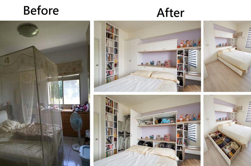 老屋翻新的前後對比