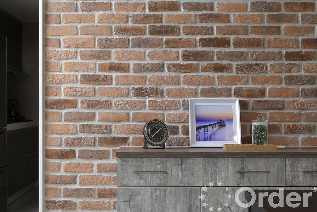 搭配磚石的工業風裝飾