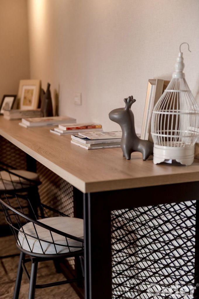 金屬傢俱強化小坪數工業風裝潢風格