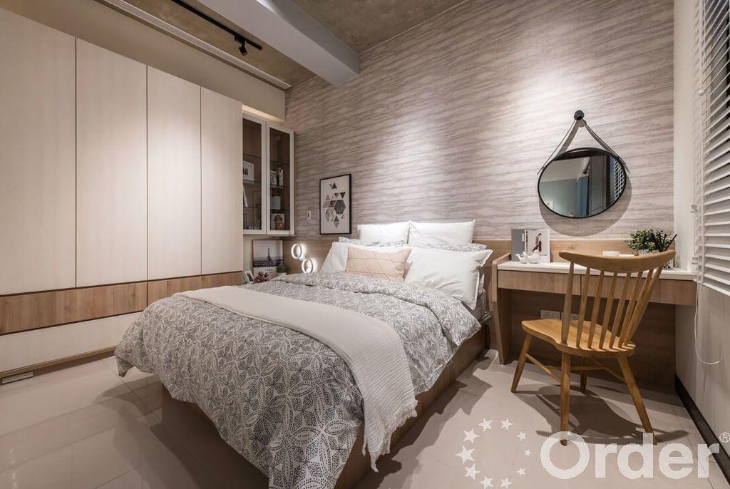 北歐風格裝潢設計:臥室