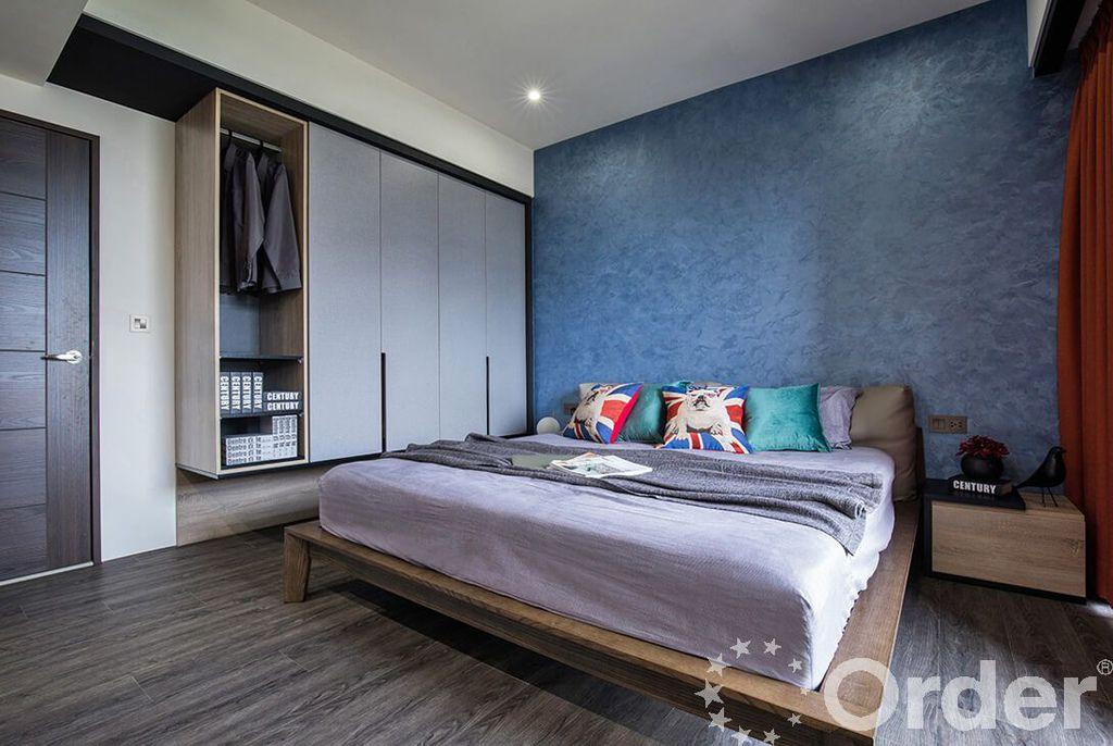 室內裝潢風格:工業風臥室