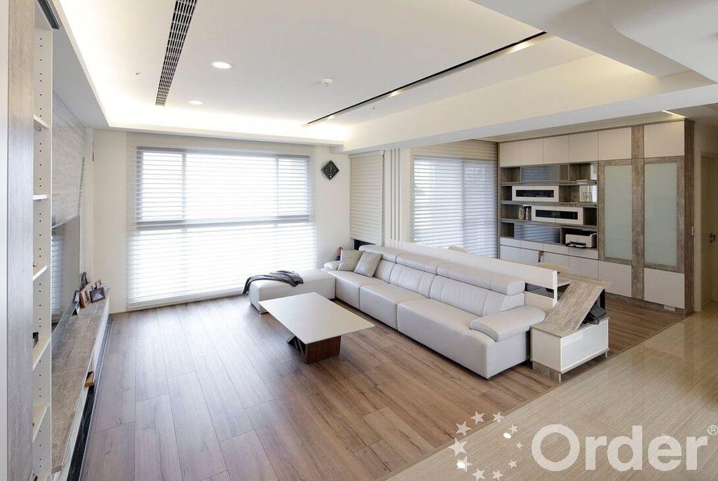 現代風格裝潢設計案:客廳