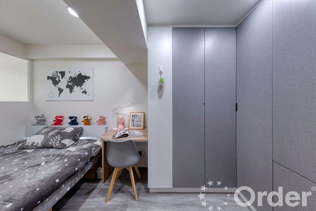 室內裝潢風格:現代風臥室
