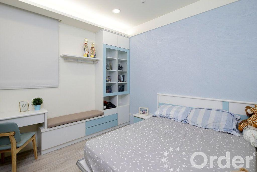 現代風格裝潢設計案:臥室