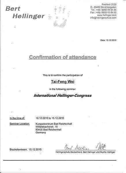 certificate Hellinger 2010.12.15