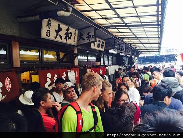 【東京】築地- 大和壽司- 比評價表現的優秀,新鮮無敵♛