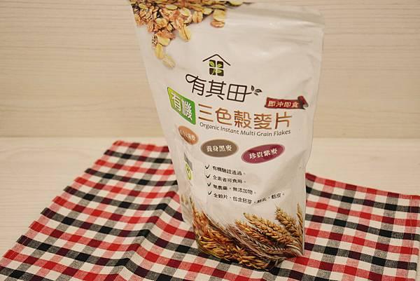 天然有機無添加的有其田穀麥片推薦