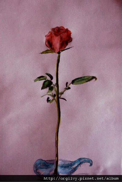 玫瑰(水彩寫生)