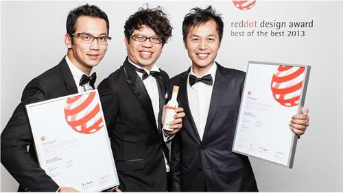 """德國紅點Red Dot設計大獎""""Best of the Best 2013""""最高榮譽"""