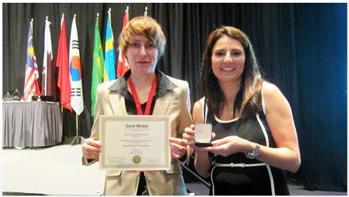 2014美國匹茲堡國際發明金牌獎
