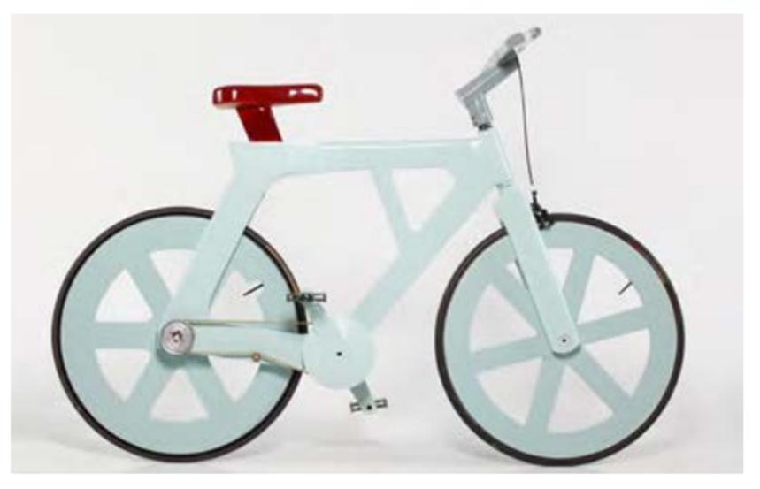 再生紙板腳踏車