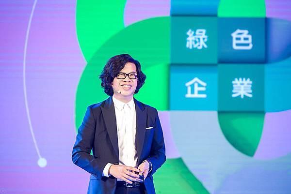 最綠美妝歐萊德引領國際永續風尚,董事長葛望平獲邀前往中國參與「2018創說年度演講大會」,為歷屆唯一受邀的美妝企業,成功向近千名創業家分享綠色美妝的經營求存之道,將綠色理念推展至世界舞台。.jpg