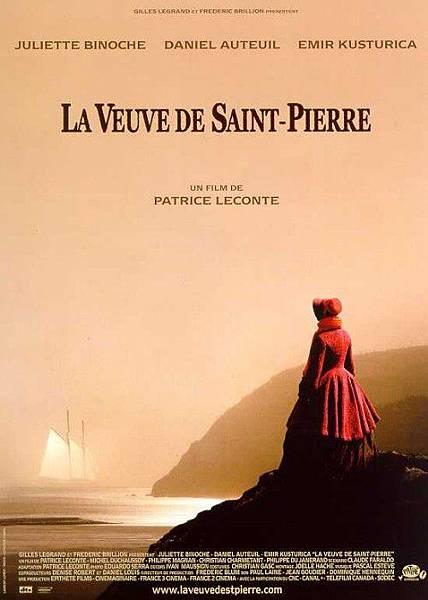 《聖皮耶島的寡婦》法國版海報