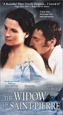 《聖皮耶島的寡婦》美國版海報