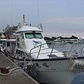 停泊於烏石港的遊艇