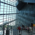 蘭陽博物館內側景