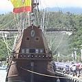 西班牙仿古船宜蘭行