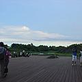 蘭陽博物館後側平台