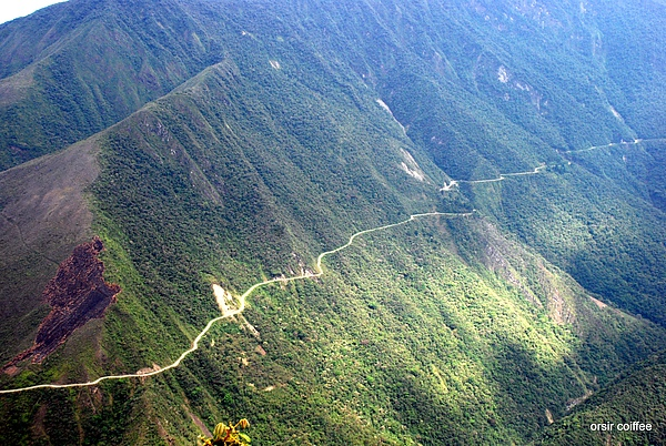 Bolivia Road of Death 3(world's most dangerous road)