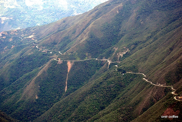 Bolivia Road of Death 6(world's most dangerous road)