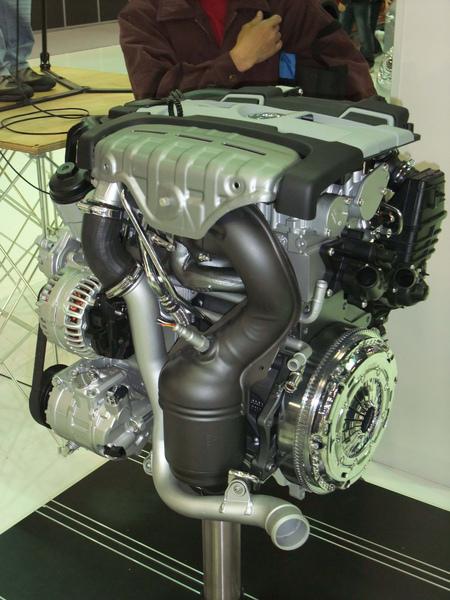 VW展示的引擎